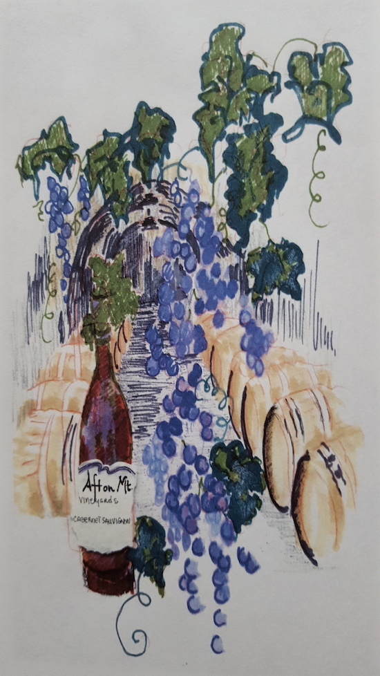 Afton Winery by Lu Harris